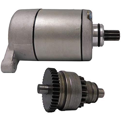 New Starter And Drive Combo Kit For Polaris ATV UTV 325 330 335 425 500 Sportsman Scrambler Magnum Trail Boss Ranger 113528 18645 495713 3084981 3090188 by Parts Player