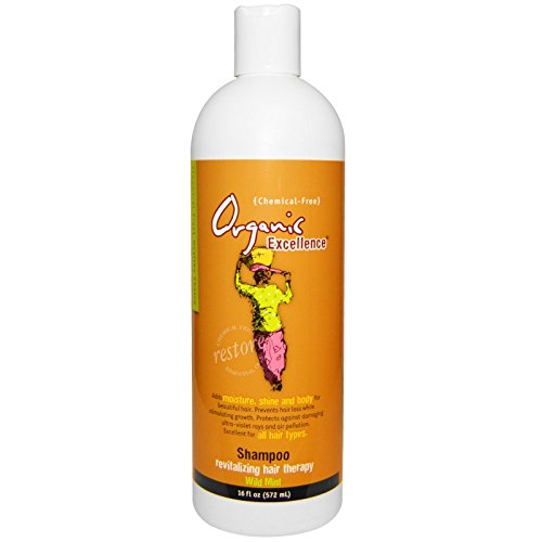 Organic Excellence  Mint Shampoo, 16 Ounce