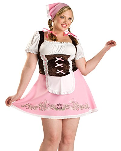 Plus  (German Beer Girl Costume Authentic)