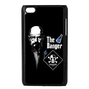 breaking bad Walter White (Bryan Cranston) Personalized wheel Case cover shell for IPod Touch 4
