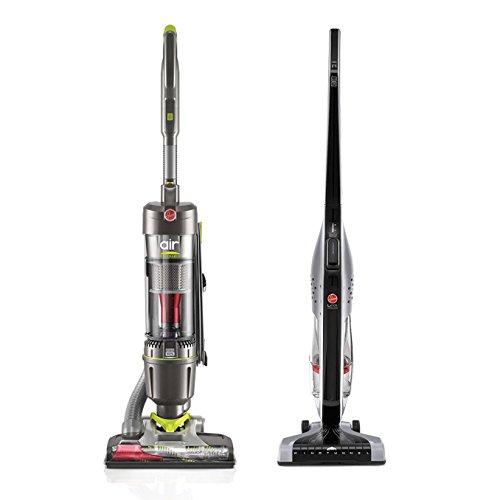 Hoover Air Steerable WindTunnel Vacuum + Stick Vacuum (Certified Refurbished)