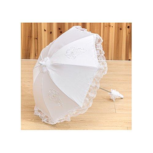 Wedding Flower Girl Handmade Battenburg Lace Vintage Umbrella Parasol New Pattern by Lady Bella Wedding workshop