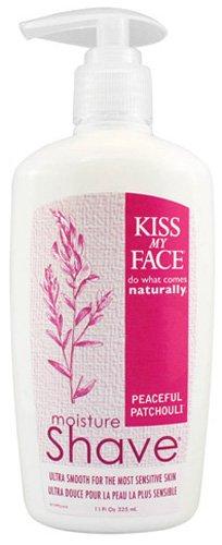 Kiss My Face Moisture Shave, Peaceful Patchouli 11 fl oz (325 ml)