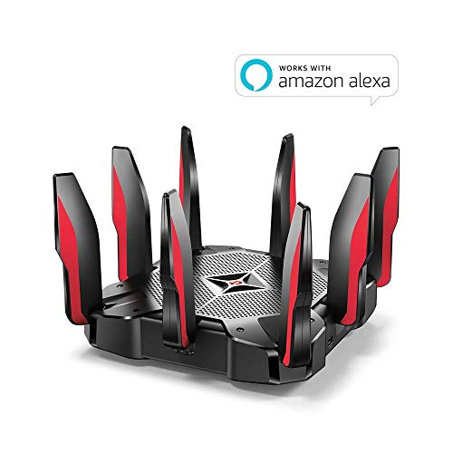 TPLink AC5400 Tri Band Gaming Router  MUMIMO 18GHz QuadCore 64bit CPU Game First Priority Link
