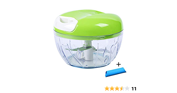 Premium Quick Chopper Vegetable Slicer Fruit Onion Garlic Cutter Lock /& Lock