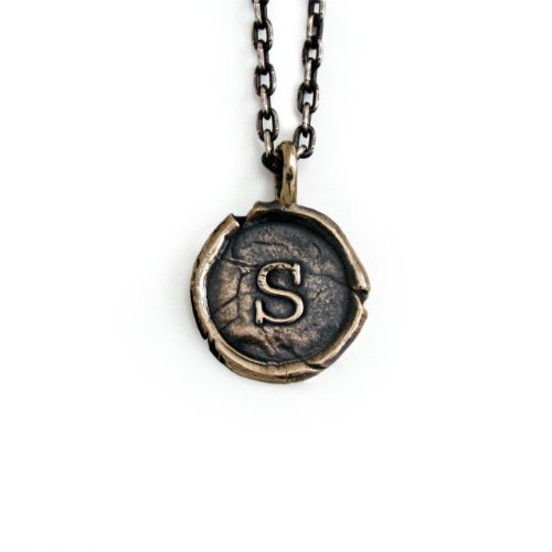 Pennyroyal-Studio-Bronze-Initial-Pendant-Necklace-Letter-S