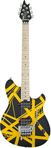 EVH Wolfgang Special - Black and Yellow - Evh Drop D-tuna