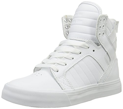 Action Leather Footwear (Supra Men's Skytop White Action Leather Men's 11.5 D - Medium)