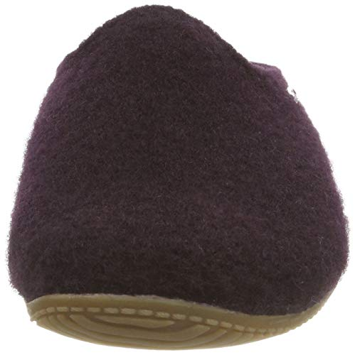 Uni Violet Pantoufles Aubergine Kitzbühel Living Pantoffel 277 Femme PSqw7BAEx