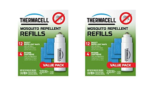 Price comparison product image Thermacell Mosquito Repellent Refill Value Pack Set of 2