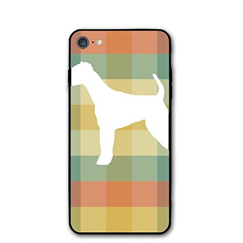 Airedale Terrier Vintage Silhouette IPhone 7 Case,iPhone 8 Case Printing Cell Phone Shell