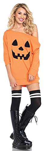 Jersey Pumpkin Dress Adult Costume - Small/Medium