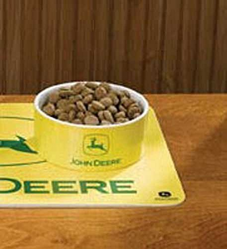 John Deere Pets - Officially Licensed John Deere Ceramic Pet Bowl (Small)