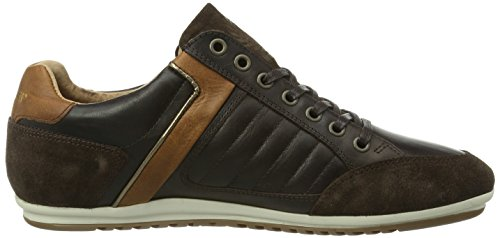 Le coq sportif Axerre Low Herren Sneakers Braun (Coffee Bean)