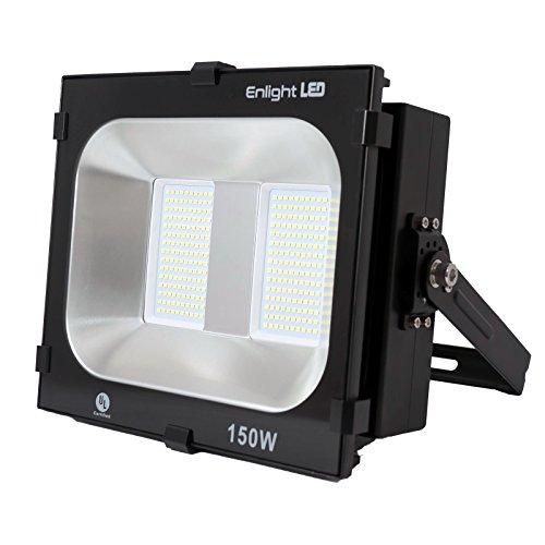 Enlight LED LD-FD-K150U UL Certified 150W LED Flood Light 120 Degree Light Angle 15,000 lm, Cool White, Heavy Duty Aluminum by Enlight LED (Image #7)