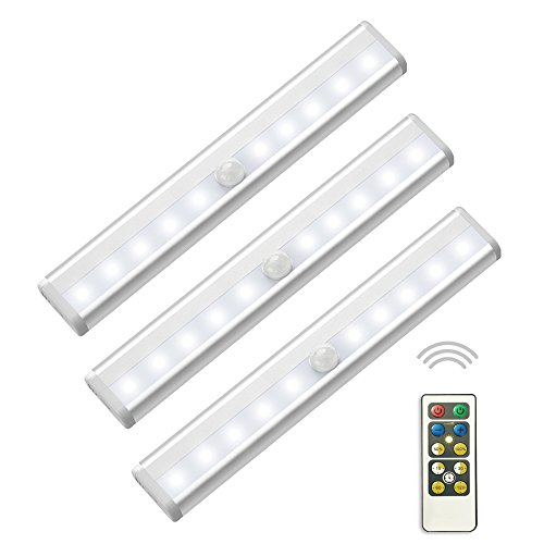 4 Led Cabinet Light W/Motion Activated Sensor in US - 7