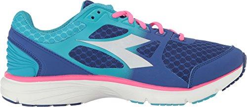 Diadora Women's Run 505 Ultramarine/Pink Fluo Athletic Shoe