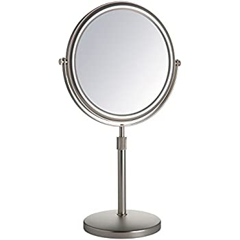 Amazon Com Jerdon Jp4045n 9 Inch Vanity Mirror With 5x