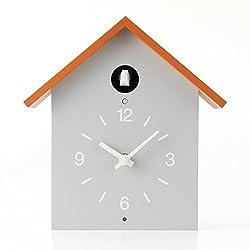 Muji Cuckoo Clock Orange Limited Edition - Size - 255x125x267mm