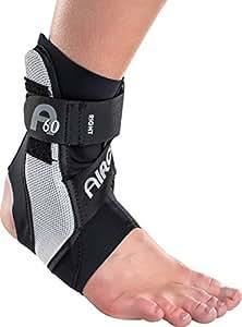 Aircast A60 Ankle Support Brace, Left Foot, Black, Large (Shoe Size: Men's 12+ / Women's 13.5+)