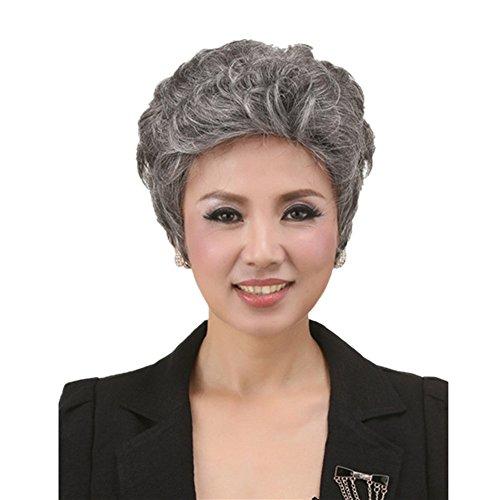 Old A (Short Grey Wig)