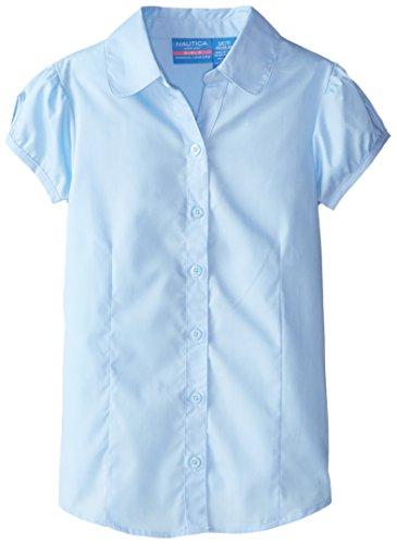 Nautica Girls Uniform Short Sleeve