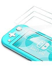 Bewahly Skärmskydd för Nintendo Switch Lite [3-pack], 9H hårdhet härdat glasfilm
