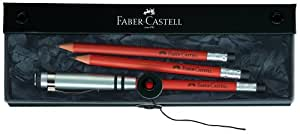 Faber-Castell - Set de lápices (2 unidades), color marrón