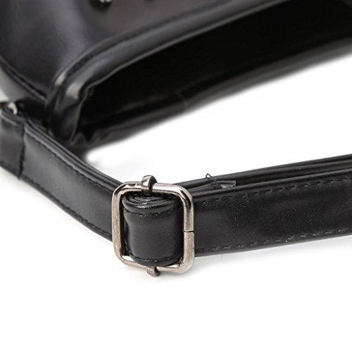 Goth Bag Tassel Handbag Crossbody Dabixx Punk Fashion Shoulder Black Messenger Women Skull UpIwBax