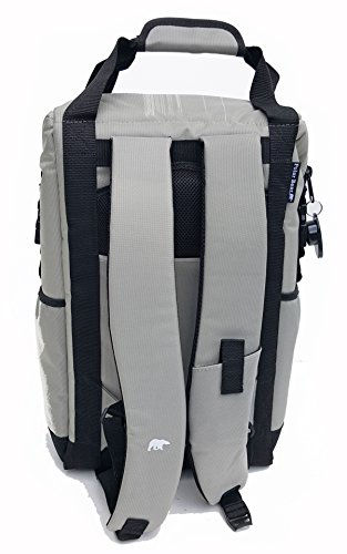 Polar Bear Coolers - Solar Bear Line - Quality Like No Other from The Brand You Can Trust - See Touch & Feel The Polar Bear Difference - Patent Pending - Backpack Cooler