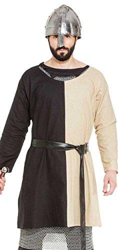 (Medieval Renaissance Pirate Viking LARP Mens Costume John Hawkwood Warrior Tunic)