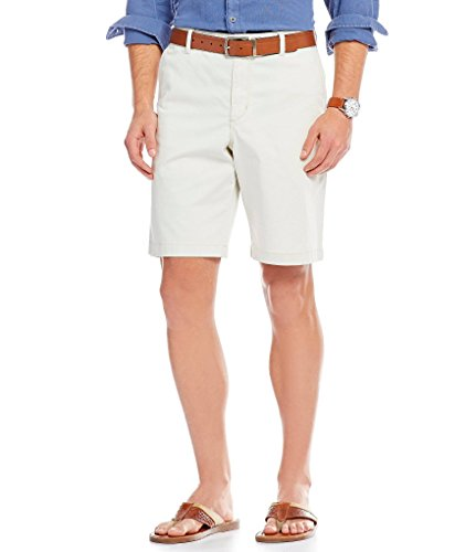 (Tommy Bahama Men's Boracay Flat-Front 10-Inch Shorts, Bleached Sand, 36)