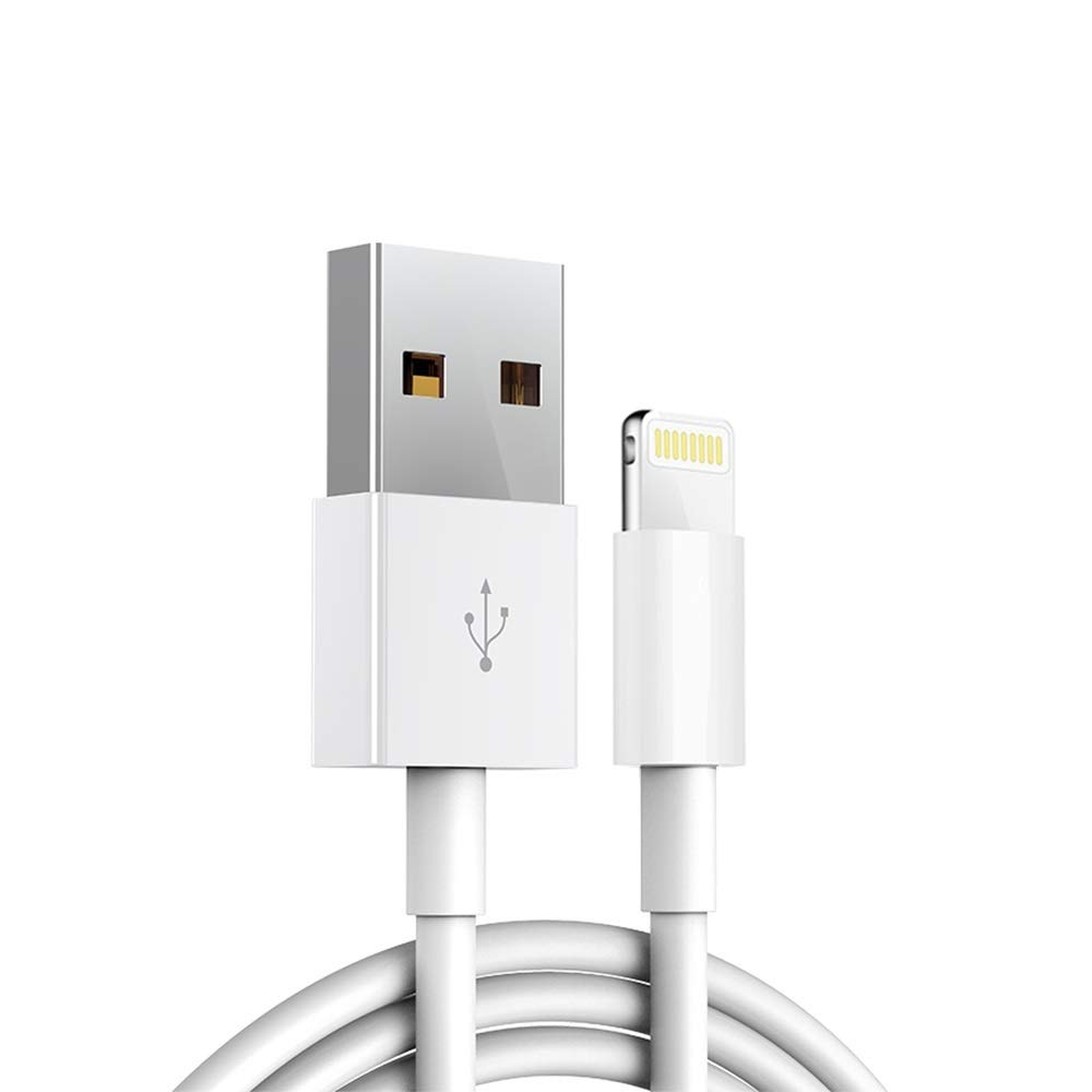 Apple iPhone/iPad Charging/Charger Cord Lightning to USB Cable [Apple MFi Certified] Compatible iPhone 11/11 Pro/Xs/Max/Xr/X/8/7/6s/6plus/5s,iPad Pro/Air/Mini(White 1M/3.3FT) Original Certified