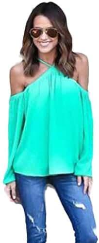Sunward(TM)Women Fashion Irregular Strapless Chiffon Tops