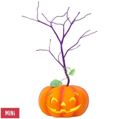 Hallmark Keepsake Halloween Decor Mini Tree With Light 2018 Year Dated, for Miniature Ornaments, 11.5