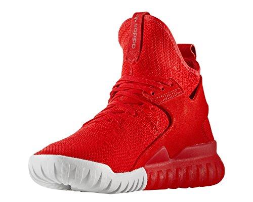 adidas Tubular X Primeknit Rouge Rouge 45
