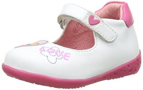 Agatha Ruiz de la Prada Follow Baby - Zapatos de primeros pasos Bebé-Niños Blanco (Blanco)