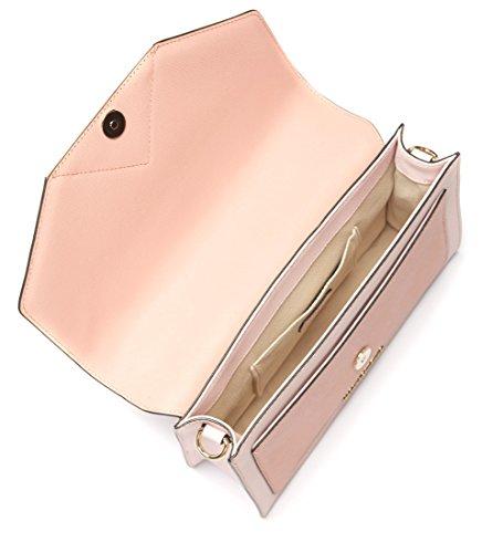 Borsa a mano Karl Lagerfeld Klassic in pelle rosa