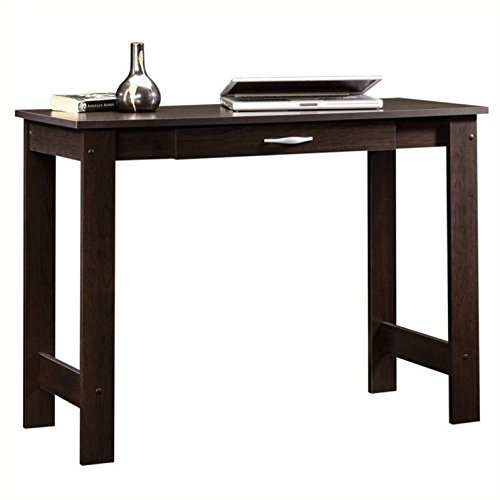 Sauder Beginnings Writing Table, Cinnamon Cherry finish (Writing Tables With Drawers)