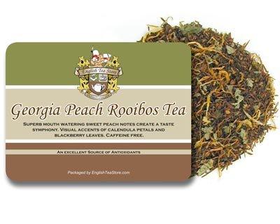 Georgia Peach Rooibos Caffeine Free Tea - Loose Leaf - 16oz ()