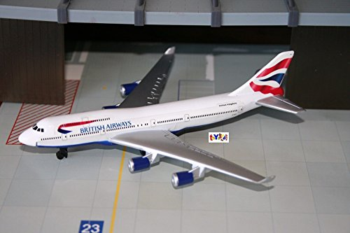 RealToy British Airways Airplane Boeing 747 400 diecast (British Airways Boeing 747)