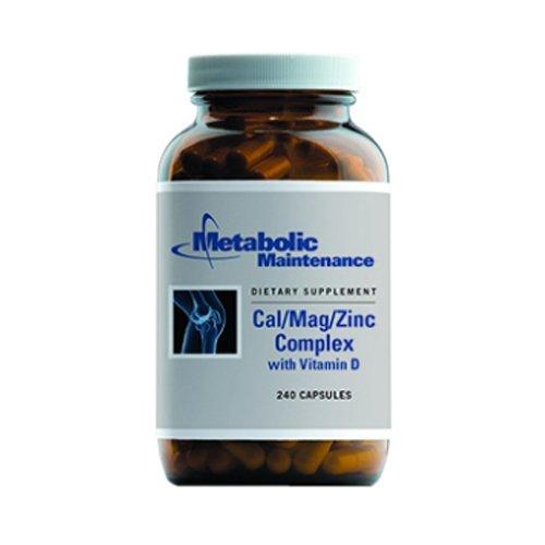 Entretien métabolique - Cal / Mag / Complexe Zinc w / vitamine D 240caps
