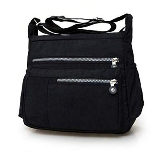 Borsa A Multilayer 5 Nylonbag Per Messenger Donna Shoulder Bags Donnabag Casual Tracolla Wangkk 6 adxZa