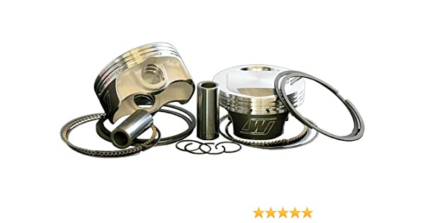 Wiseco K1658 3.528 Bore 9.5:1 Compression Ratio Reverse Dome Forged Piston Kit