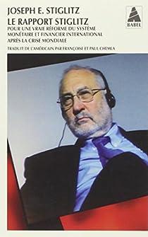 Le Rapport Stiglitz par Stiglitz