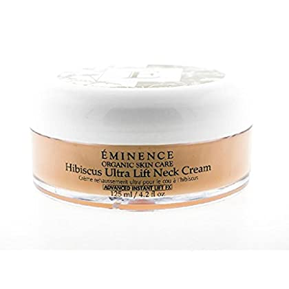 Image of Eminence Organic Skincare Hibiscus Ultra Lift Neck Cream, 4.2 Ounce Baby