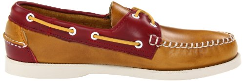 Sebago, 720-033, Horween Spinnaker, Rot/Dark Plum / Mid Brown