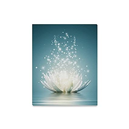 Amazoncom Interestprint Spiritual Meditation Yoga Magic Lotus