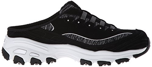 Sneaker Women's Black Mule Slip Skechers White On Sport D'Lites HqT0Y5