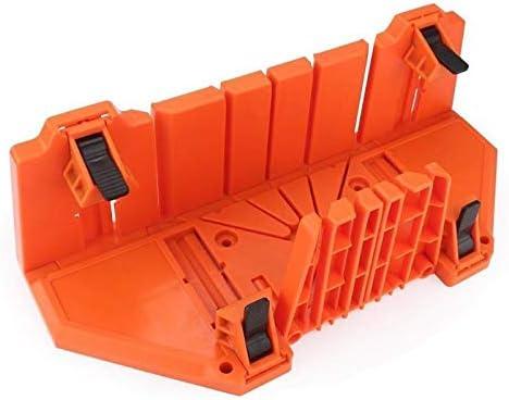 G.Y.X プラスチック製14インチケース木工クランプマイターソーボックス切削工具